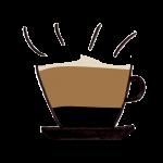Kop caffe latte