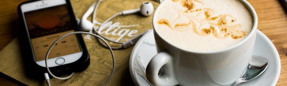Muziek bij de koffie