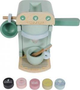 Little Dutch houten speelgoed koffiezetapparaat